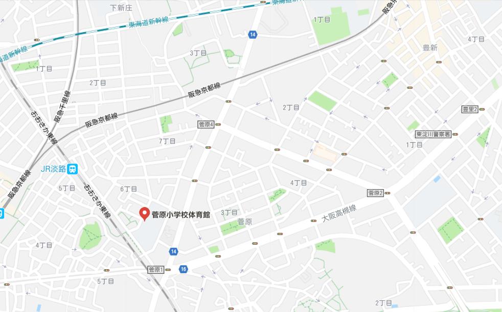 菅原小学校_地図